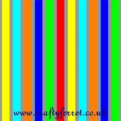 Free bold stripe craft backing paper by Crafty Ferret