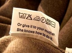 haha-Steve never reads the labels and it cracks me up because he'll come to me after he shrink a shirt!