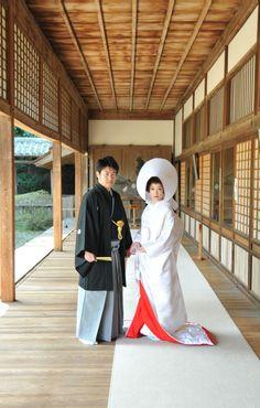 Traditional Japanese wedding...