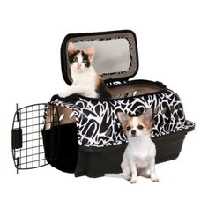 Nylabone Folding Collapsible Small Pet Portable Crate