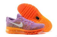quality design 181a1 bd565 Original Women Nike Flyknit Air Max Flyknit Atomic Purple Total Orange  Lila, Calzado Nike,