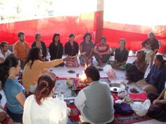 Opening ceremony for November course