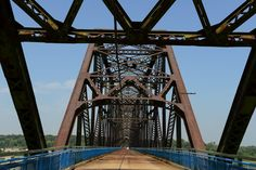 Old Chain of Rocks Bridge, Granite City IL