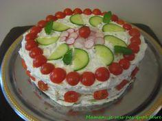 Maman....je sais pas quoi faire ! ! ! : Sandwich cake