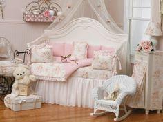 """Океан любви """" Стеганное одеяльце для детской кроватки или колыбели (описание)"""