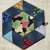 Hexagon Needle Case - via @Craftsy