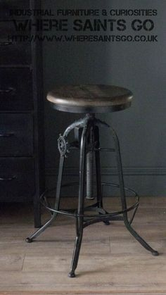 The Clockhouse Barstool will add an industrial feel to any kitchen, bar or restaurant. It is made from reclaimed wood with a metal base and foot rest. It has a working mechanism which allows the seat height to be adjusted. It also has the added benefit of a removable back rest so it therefore has a dual purpose. Buy now from wheresaintsgo.co.uk/ for £175.00.