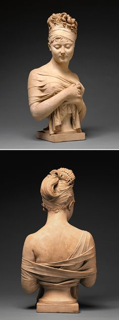 Bust of Madame Recamier, Joseph Chinard, about 1801-1802