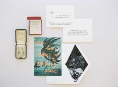 Beautiful mr bdoddingtons stationery | photographer Jen Huang