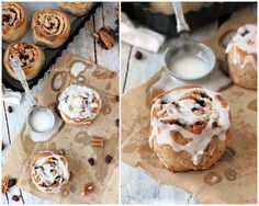 cinnamon rolls final collage