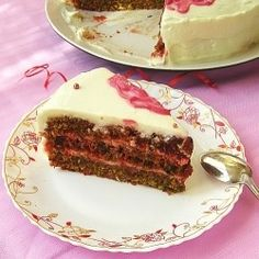 Beet Cake with Mascarpone Cream