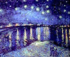 """""""Non so nulla con certezza, ma la vista delle stelle mi fa sognare."""" -V. Van Gogh- *Dipinto di Van Gogh"""