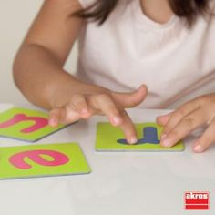 Robust cards with tactile letters (upper and lower case) encouraging finger trailing. Sensory Toys, Lowercase A, New Toys, Letters, Activities, Education, Mini, Av, Cards