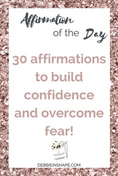 Affirmations build confidence and are an effective way to overcome fear, become more productive, and develop a fulfilling lifestyle. Every day, throughout the month, I'll be sharing with you positive affirmations to inspire you become a better version of yourself intentionally. You can download the entire list as well as access my FREE library for weekly tips, exclusive content and a lot more by visiting this link.
