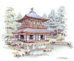 John S. Taylor, Ginkaku-ji (Silver Pavilion, Kyoto)