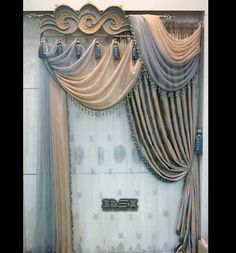 modern bedroom curtain design ideas window curtains 2018 Latest curtains designs for bedroom 2018 catalogue, how to choose the colors of modern bedroom curtain design, and new curtain ideas to do in your bedroom interior design Luxury Curtains, Elegant Curtains, Beautiful Curtains, Modern Curtains, Cool Curtains, Window Curtains, Curtains 2018, Curtain Designs For Bedroom, Latest Curtain Designs