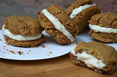 AIP Ginger Sandwich Cookies with Lemon Cream by Grazed and Enthused paleo dessert cookies Paleo Sweets, Paleo Dessert, Gluten Free Desserts, Dessert Recipes, Healthier Desserts, Vegan Desserts, Dessert Ideas, Paleo Cookies, Cookie Recipes