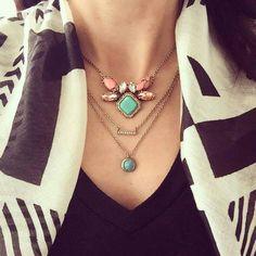 Sedona East-West Pendant Necklace Shop Now: https://www.chloeandisabel.com/products/N296/sedona-east-west-pendant-necklace