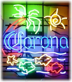 The quality detailed on these are much better on the magnet than shown here and will last many years. These are flatimages of a Corona Beer Neon printed onto a 16 mil Vinyl Flexible Photo Magnet Sheets. Neon Light Art, Cool Neon Signs, Sign O' The Times, Neon Moon, Old Signs, Beer Signs, Beer Company, Rainbow Connection, Corona Beer