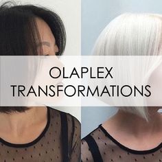 The Chemistry of Color | Strong and healthy platinum transformation by @hairbyluu with #Olaplex and Eugene Perma. Transformations like this take hours of work and time. This one took two sessions both at 1.5 hrs each using 10 vol, then 30 vol. ❤️ Insure the integrity of your clients hair by adding Olaplex No.1 to your formulations. This will help mitigate damage done during the color process. Then, finish a generous No.2 treatment to further rebuild bonds