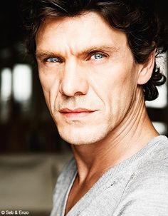 Marc Lavoine.  Super craggy, super sexy, at least in Crossing Lines.