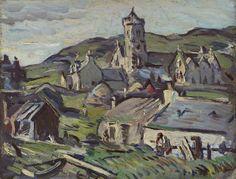 Landscape, Barra by Samuel John Peploe (Scottish, 1871-1935)