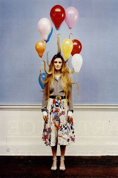 Vogue italia - balloon