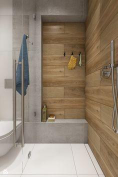 Dom pod Krakowem - przestrzeń zupełna - Średnia łazienka w bloku w domu jednorodzinnym bez okna, styl nowoczesny - zdjęcie od WERDHOME