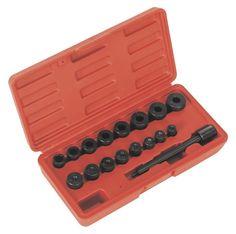AK710 - Sealey 17 Piece, Universal, Clutch Aligning Tool Set - Clutch Tools - Transmission - Automotive