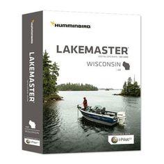 Humminbird LakeMaster 2014 Wisconsin Digital GPS Map Card