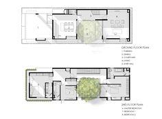 I-House,Ground Floor Plan - 2nd Floor Plan