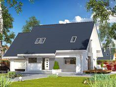 DOM.PL™ - Projekt domu MT Azuryt 2 CE - DOM MS2-13 - gotowy projekt domu