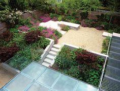 Hampstead Garden - Jinny Blom - gravel area with birch trees