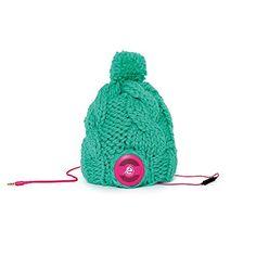 Earebel powered by AKG ERH280301 Handgemachte 'Florence' Strickmütze mit Kopfhörern, medium, pink on Hipster Shop - Entdecken, teilen und sammeln erstaunliche Produkte mit Hipster-Shop.com