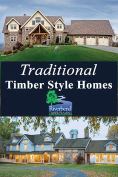 Start Here: Photos, Traditional Timber Frame Homes, Traditional Floor Plan Designs