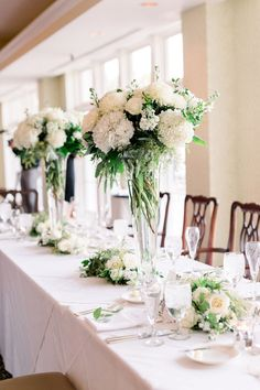 Flowers by Sisters Floral Design Studio www.sistersflowers.net Image by Zoe Life Photography #sistersfloraldesignstudio #weddingflowers #headtableflowers #whiteivoryflowers Centerpieces, Table Decorations, Life Photography, Flower Designs, Holi, Getting Married, Wedding Flowers, Floral Design, Sisters
