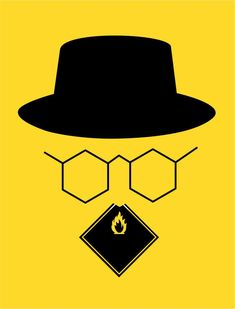 'Breaking Bad' #illustration by Noma Bar for Empire Magazine #breakingbad