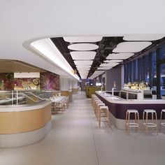 Yotel New York by Softroom and Rockwell Group. BAr