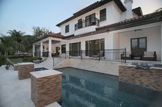 Bayshore Estates - mediterranean - exterior - tampa - Devonshire Custom Homes
