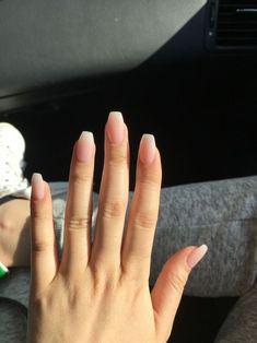 IBD Seashell Pink - Nails Tip Acrylic Nail Shapes, Pink Acrylic Nails, Acrylic Nail Art, Nude Nails, Acrylic Nail Designs, Nail Pink, Natural Acrylic Nails, Cuffin Nails, Acrylic Nails Coffin Short