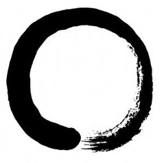 ENSŌ | Expression of the moment, symbolizing absolute enlightenment, strength, elegance, the universe, and the void