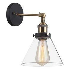 Kinkiet LAMPA ścienna GETAN MBM-2564/1 Italux przezroczysta