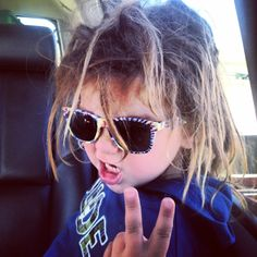 Kids with dreads (wild, free spirited dreads:) #dreads #kidswithdreads