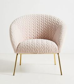 New Collection Is All That Stands Between You and the Perfect Fall Home Anthropologie Quilted Hillside Accent ChairAnthropologie Quilted Hillside Accent Chair Bedroom Chair, Bedroom Furniture, Bedroom Decor, Gray Furniture, Furniture Chairs, Pipe Furniture, Country Furniture, Blue Bedroom, Design Bedroom