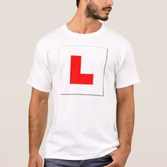 L Plates (red/white) T-Shirt