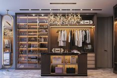 When you are thinking about redoing your home, one aspect that you should carefully consider redoing is the closet. The problem is you may not know the benefits of using the dream closets designs to Walk In Closet Design, Wardrobe Design, Closet Designs, Luxury Home Decor, Luxury Homes, Closet Mirror, Closet Doors, Dressing Room Design, Dressing Rooms
