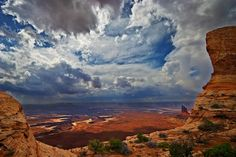american southwest clouds