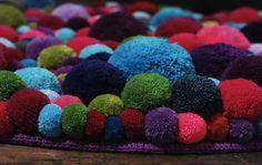 Handmade Pom-Pom Bommel Carpets by MYK (2)