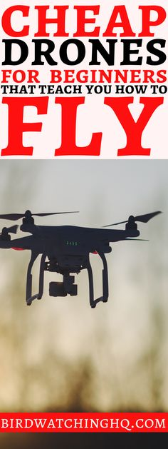 Check out the BEST drones for beginner pilots. Some of these quadcopters even ha… Check out the BEST drones for Drone Videography, Photography And Videography, Drone Photography, Wildlife Photography, Editorial Photography, Photography Tips, Landscape Photography, Drone Technology, Technology World