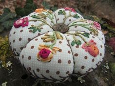 beauiful either as a Pin cushion/or a larger Cushion, great colours too :)